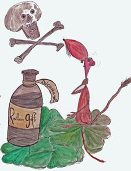 Mit Gift tötet man Ratten
