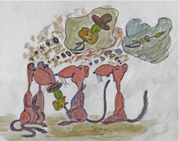 Ratten haben einen Vorkoster